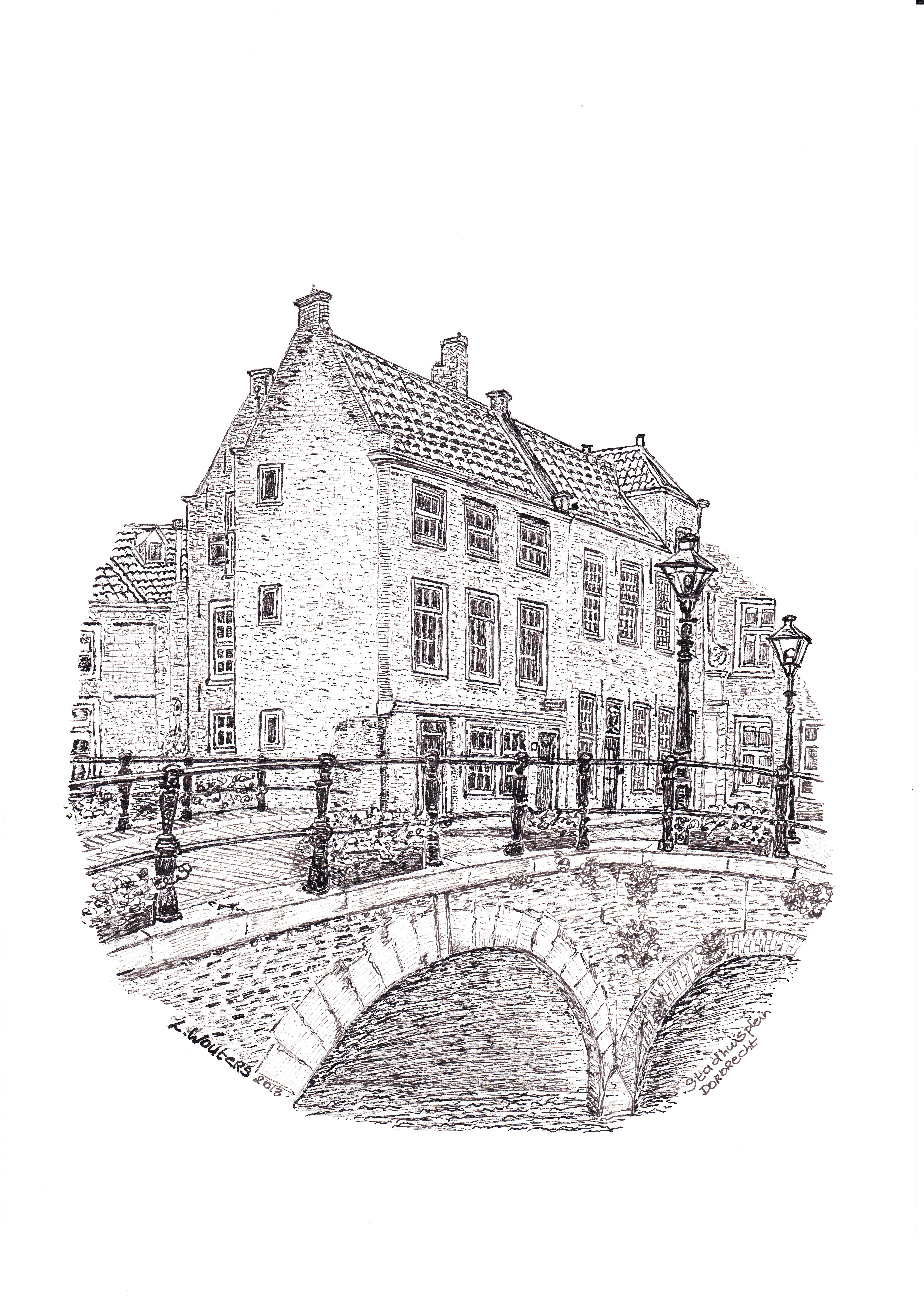 Pentekeningen Dordrecht