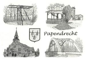Ansichtkaart Papendrecht