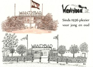 Ansichtkaart Wantybad